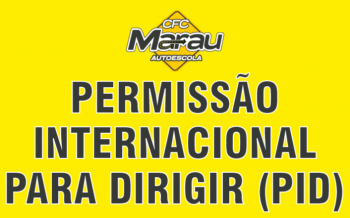 Permissão Internacional para Dirigir – PID