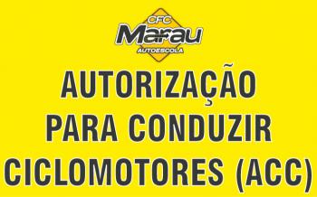Autorização para Conduzir Ciclomotores - ACC
